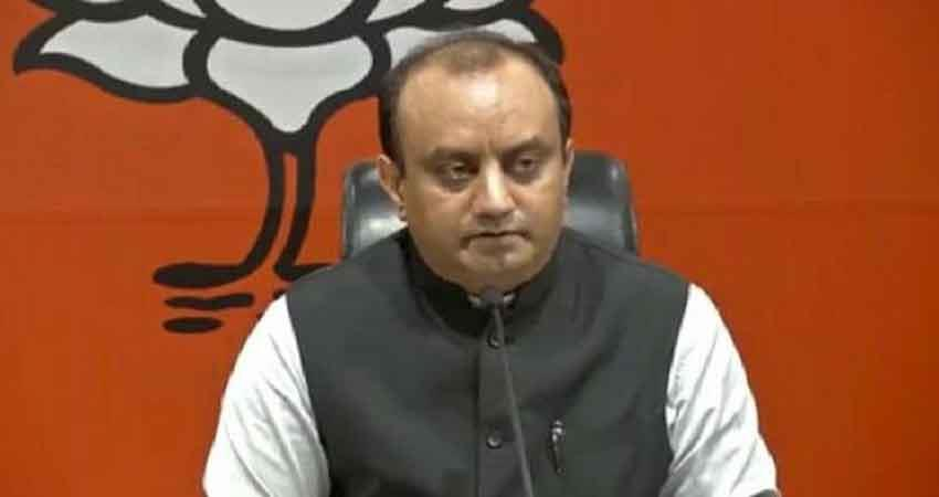 bjp leader sudhanshu trivedi elected unopposed to rajya sabha