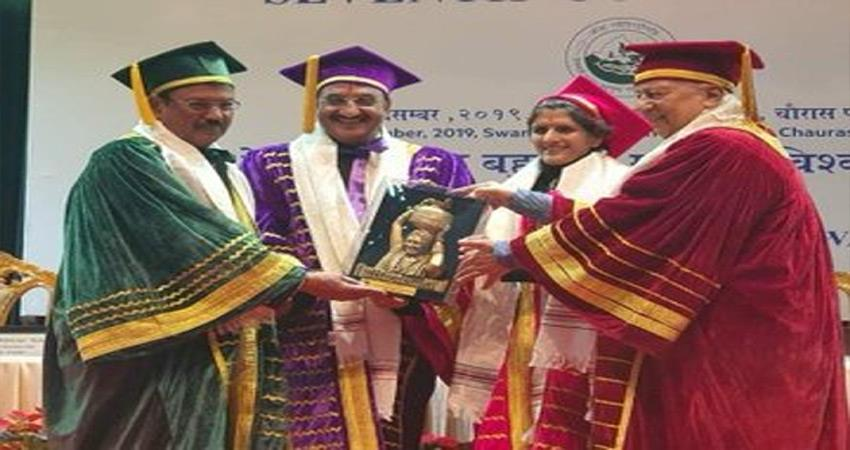 nsa doval was awarded his doctorate at the 7th convocation ceremony of garhwal university
