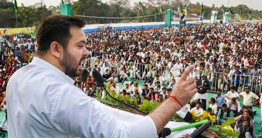 bihar elections today chanakya exit poll shows votes for tejashwi rjd alliance then nda rkdsnt