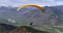 हिमाचल में पैराग्लाइडर पायलट की प्रशिक्षण के दौरान मौत,पुलिस मामला दर्ज कर जांच में जुटी