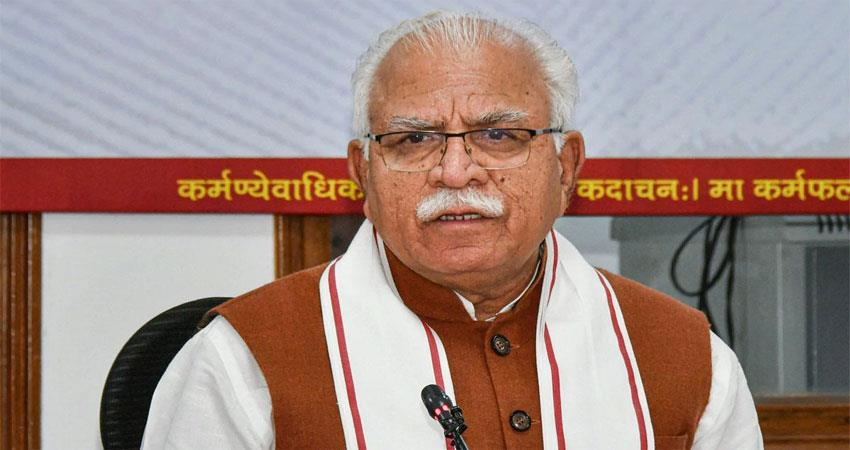 cm khattar announced exemption for burning fireworks in deepawali in haryana albsnt