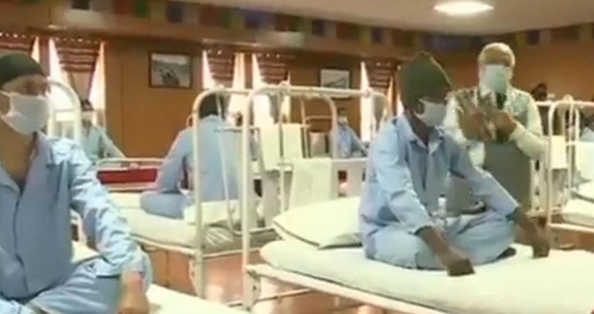 questions arose at military medical center in leh amid pm modi visit army clarify rkdsnt