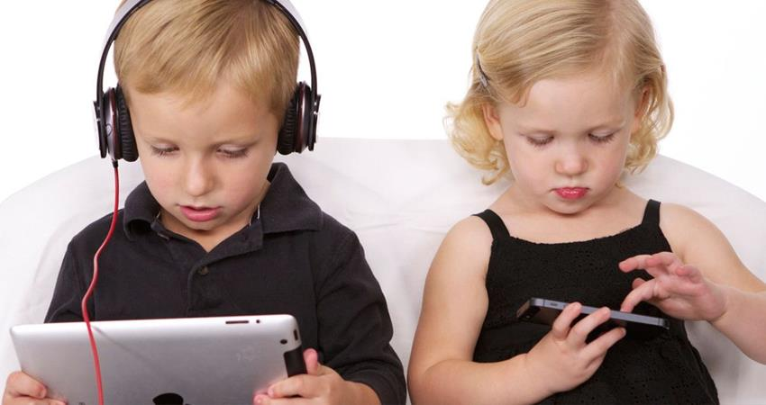 Electronic gadgets are dangerous for children''s health