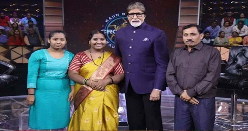 kbc 11 babita from maharashtra became second millionaire of the season missed by 7 crores