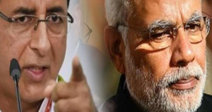 congress charges says pm narendra modi worried about his image more than boundaries rkdsnt