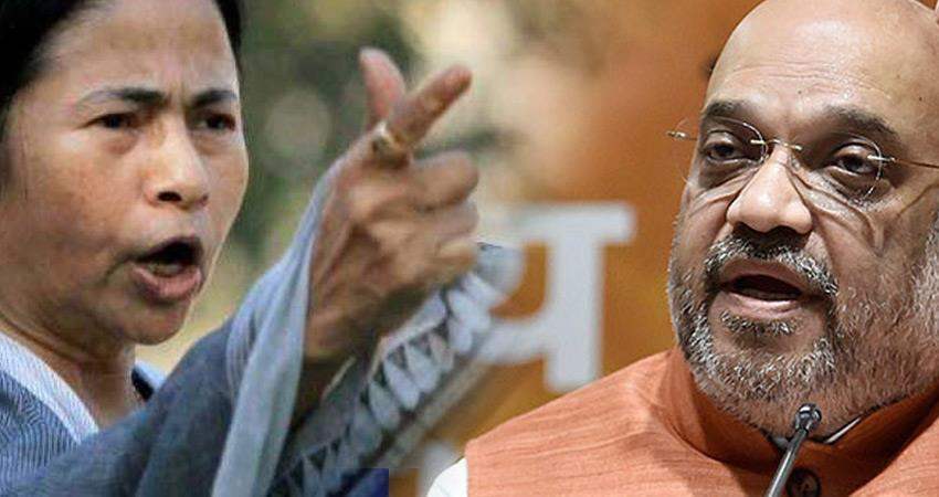 mamata banerjee hit back at amit shah said will expose lies with evidences rkdsnt