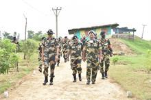 बीएसएफ के जवान अंतरराष्ट्रीय सीमाओं की हर परिस्थिति में सुरक्षा के लिए प्रतिबद्ध