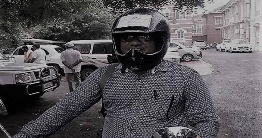 gujarat ram shah of vadodara invented this new way to avoid challan police also happy