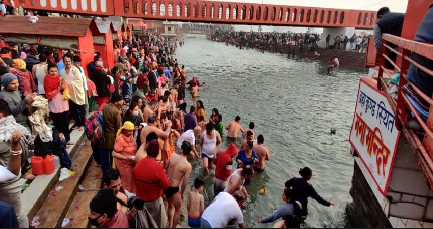 haridwar is the penance of the creator of the world musrnt