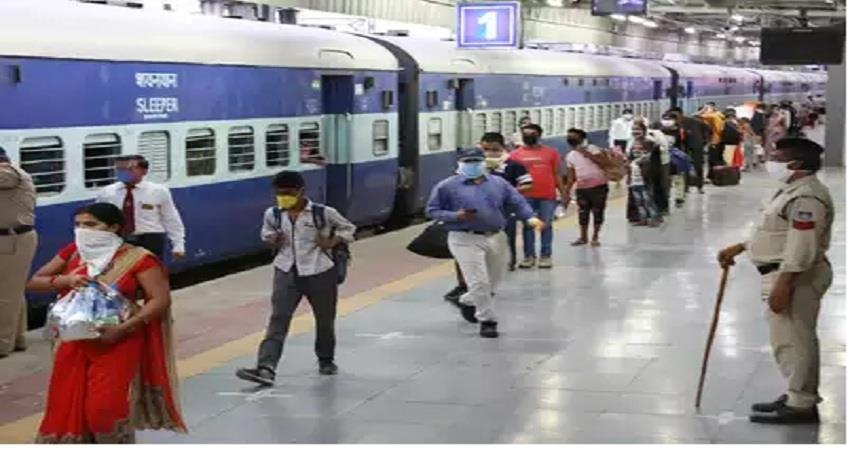 railways said  campaign to send migrant laborers will be fast albsnt