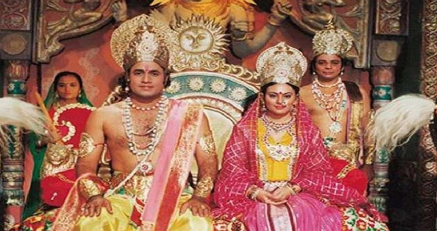 Old days are remembered after watching the Ramayana sohsnt