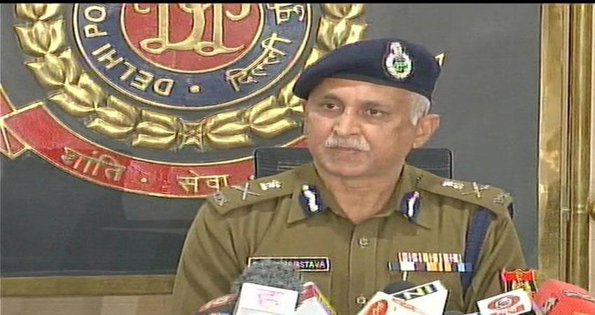 Delhi Police said about the violence criminals will not be spared DJSGNT