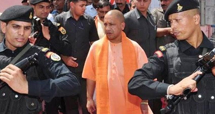Yogi BJP govt UP Police impose treason case against AAP MP Sanjay Singh rkdsnt