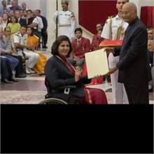 दीपा मलिक को राजीव गांधी खेल रत्न, रविंद्र जडेजा को मिला अर्जुन पुरस्कार