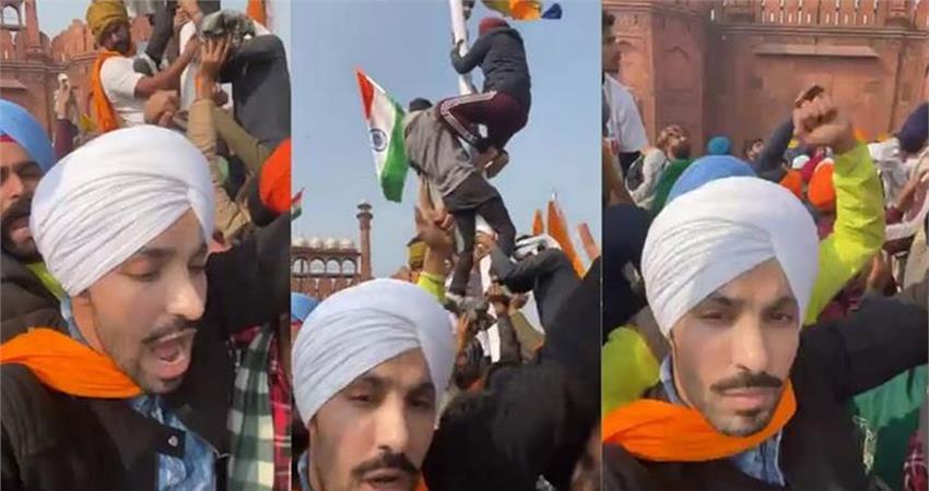 deep sidhu accused in lal qila violence clarifies in delhi court rkdsnt