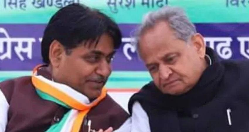 gehlot congress govt run for 5 years bjp conspiracy not succeed says govind dotasara rkdsnt