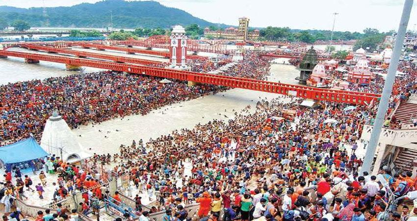 high alert in haridwar after the chamoli tragedy review of the preparation of kumbh kmbsnt