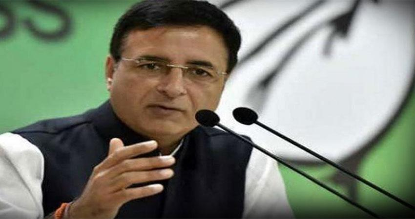congress will take decisive action on reservation issue in next two days surjewala