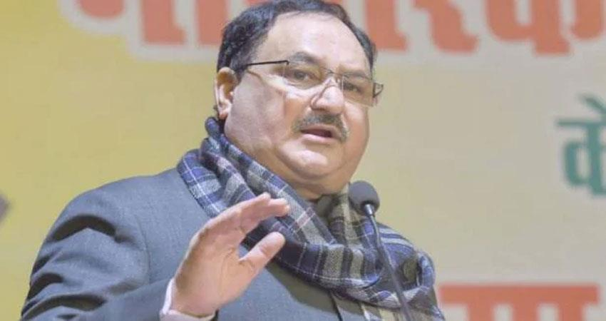 jp nadda challenged rahul gandhi said show 10 lines on citizenship law