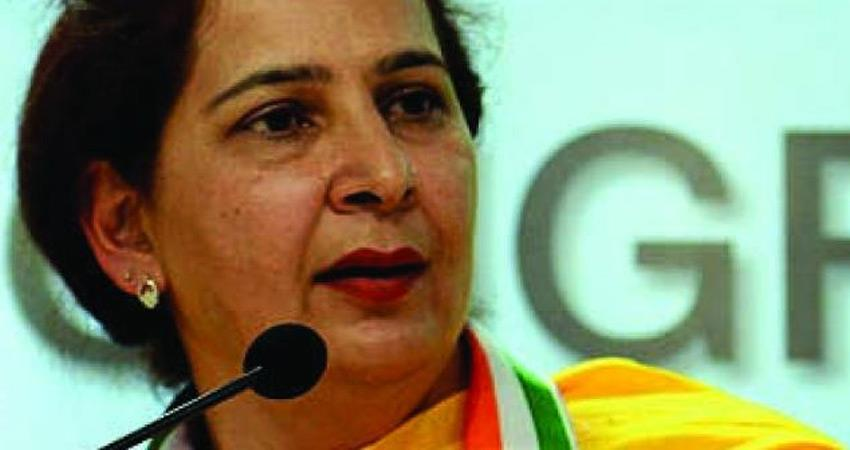 punjab congress sidhu meet amarinder wife say not in politics for any post rkdsnt