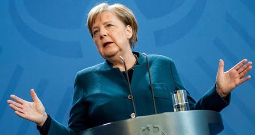 German Chancellor Angela Merkel warned corona virus epidemic risk second outbreak rkdsnt