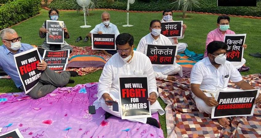 rajya sabha members suspended sanjay singh naidu rejects no confidence motion rkdsnt