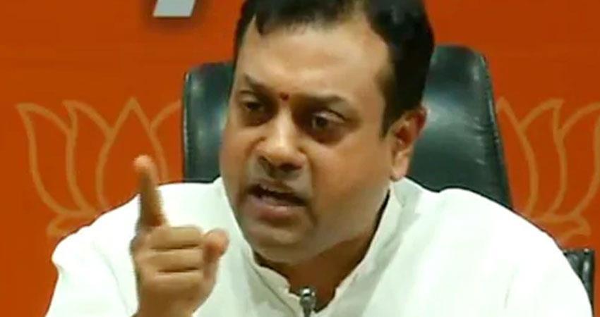 sambit patra bjp asks definition of democracy from chhattisgarh police congress replied rkdsnt