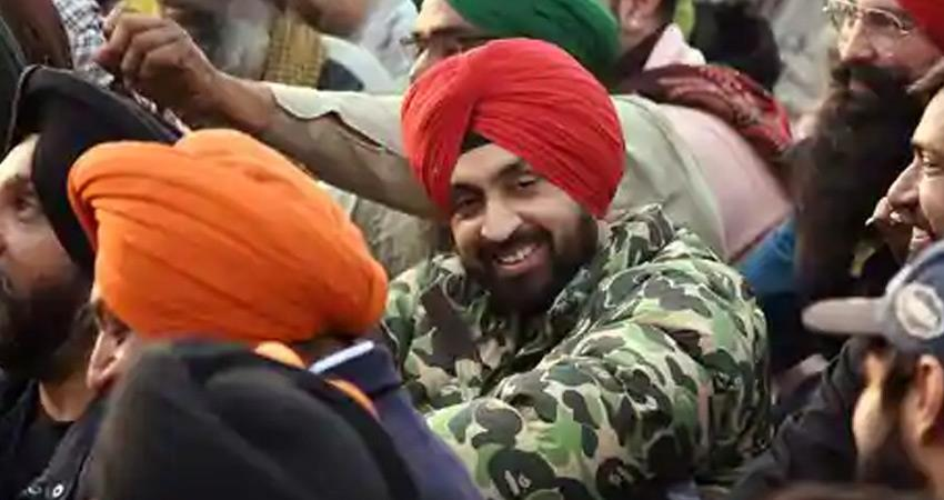 farmers supporter diljit dosanjh kept his voice news of income tax investigation rkdsnt