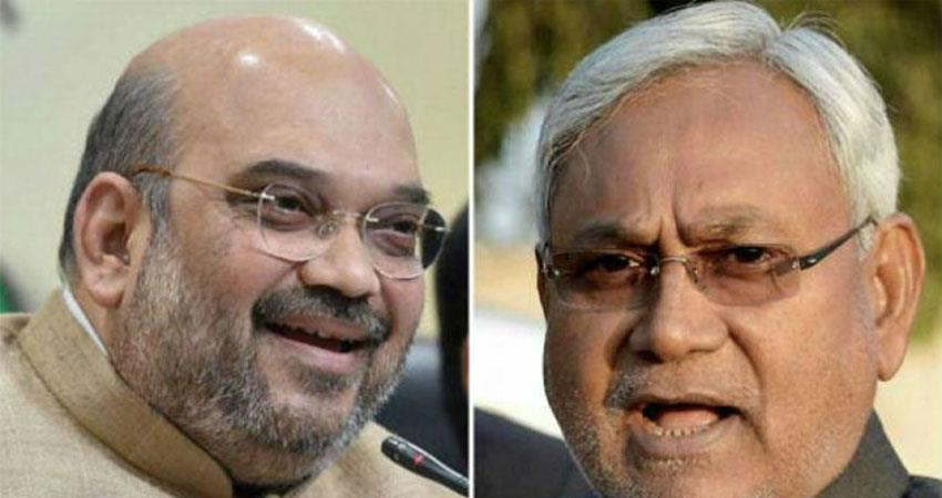 amit shah talk to chief ministers of bihar and assam flood pragnt