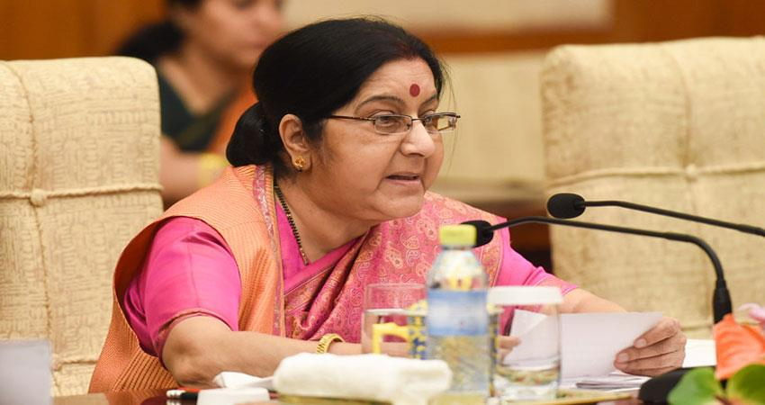 sushma-swaraj-asked-stranded-indians-to-come-out-of-tripoli-immediately