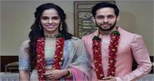 शादी के बंधन में बंधी साइना नेहवाल, पारुपल्ली कश्यप के साथ लिए सात फेरे
