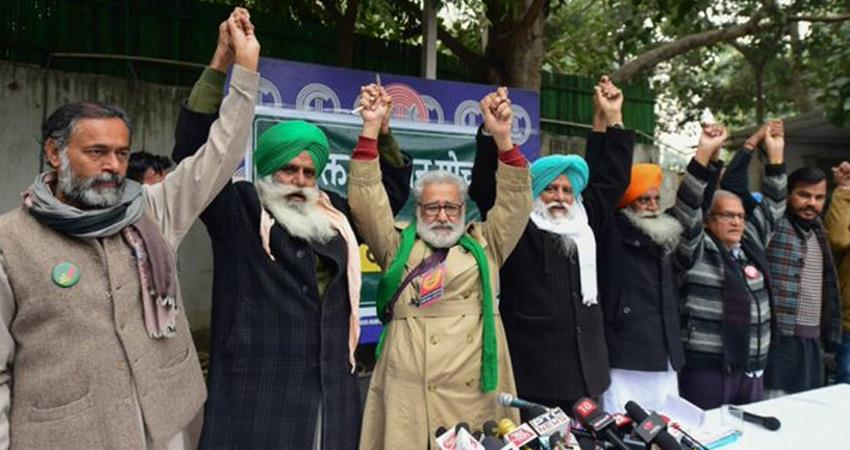 farmers protest at jantar mantar against agricultural laws metro stations may be closed rkdsnt