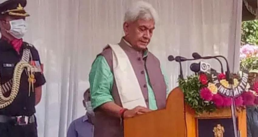 manoj sinha counted priorities after becoming lieutenant governor of jammu and kashmir rkdsnt