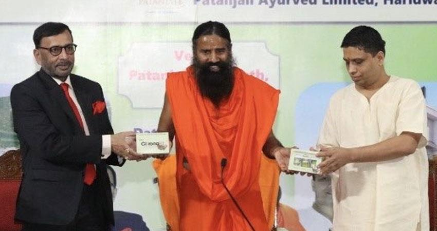 Baba ramdev balakrishna Patanjali coronil will have to wait now drug stuck in controversy rkdsnt