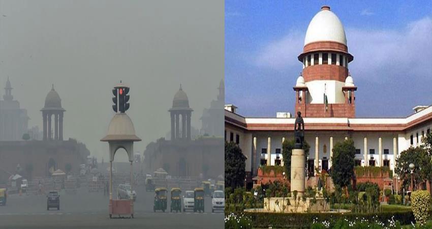 supreme court summoned delhi chief secretary regarding pollution