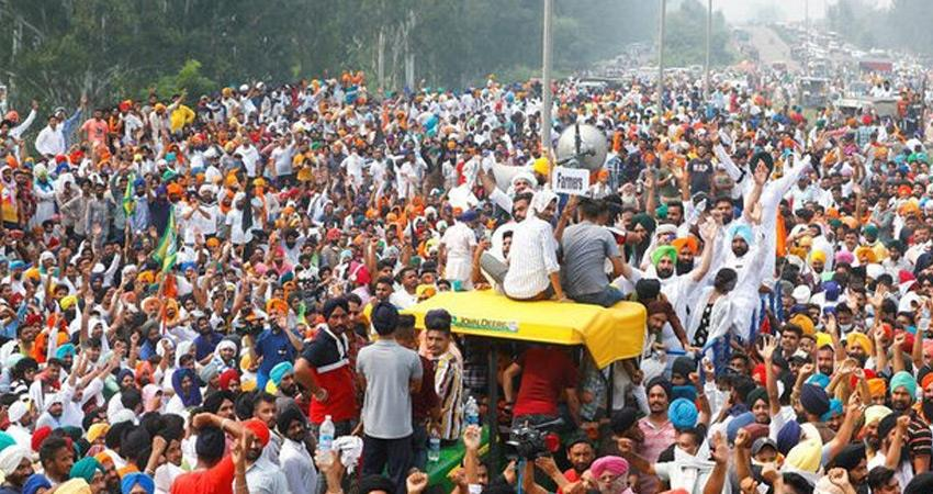modi bjp government wants to discredit farmers movement by canceling goods trains rkdsnt