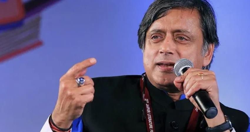 bjp-and-congress-targeted-each-other-over-shashi-tharoor-statement-in-lahore-rkdsnt