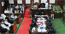छत्तीसगढ़ विधानसभा में विपक्ष ने किया राज्यपाल के अभिभाषण का बहिष्कार, बताया परंपरा के खिलाफ