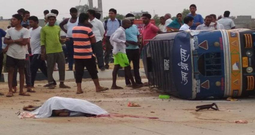 haryana news truck accident in jind