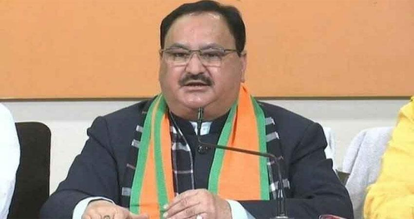 live: jp nadda convenes party leaders meeting amit shah arrives at party office albsnt