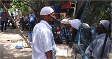 सब्जी बेचने व ऑटो चालकों का मोबाइल सर्विलांस टीम ने किया एंटिजन टेस्ट