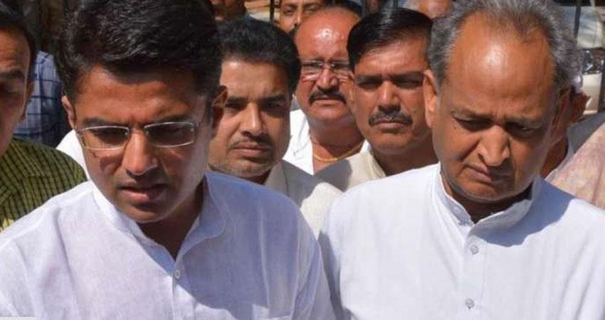rajasthan action on sachin pilot complaints removed avinash pandey ajay maken grew rkdsnt