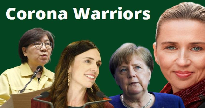 corona war these women are superb to deal with corona epidemic prsgnt