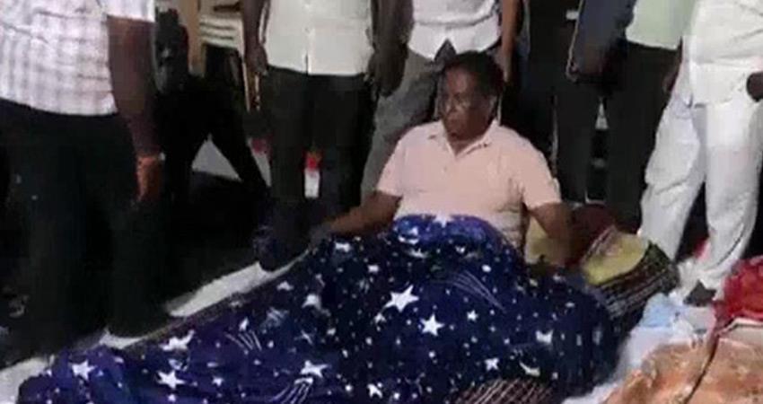 Puducherry Congress CM to meet President Kovind to demand Kiran Bedi removal rkdsnt