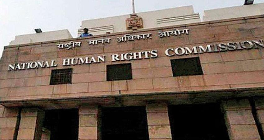 human rights commission gave notice to yogi bjp govt regarding cremation accident rkdsnt