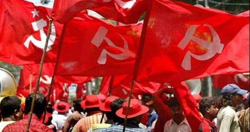 left parties asked to its units demonstrate in support of farmers protests rkdsnt