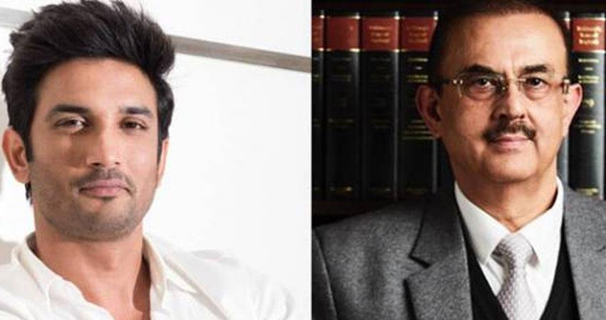 Sushant family lawyer Vikas Singh appears angry with Rhea Chakraborty interview rkdsnt