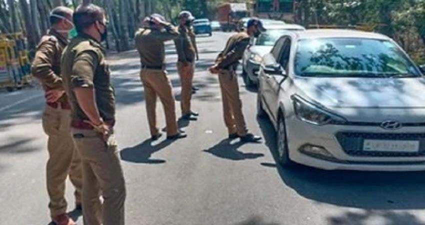 Police sealed the boundaries of Uttarakhand due to coronavirus