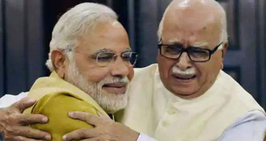 lk advani bjp leader expressed his feelings about ram temple bhumi pujan in ayodhya rkdsnt