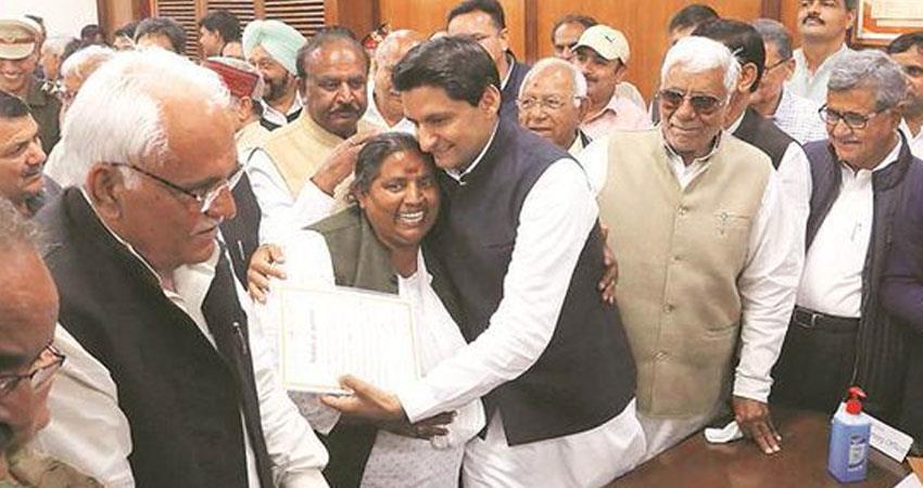 deepender hooda took oath of rajya sabha mp said will be voice of every poor rkdsnt